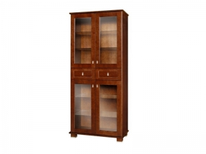 MGD 90 bookcase with glass doors