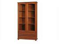 AG 110 bookcase with glass doors