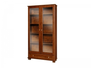 MG 110 bookcase with glass doors
